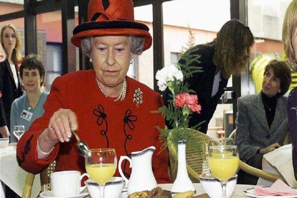 menu makanan panjang umur ratu elizabeth
