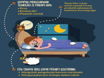 Waspada! Jangan Main Ponsel Sebelum Tidur